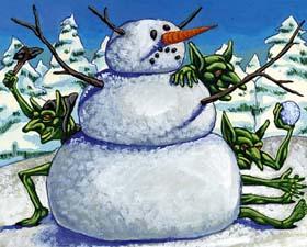 Snowy mystery art!