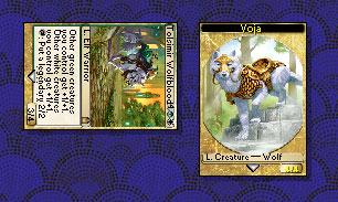 Magic Online screenshot - the Voja token