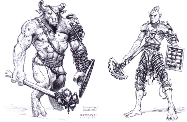 Concept art by Todd Lockwood