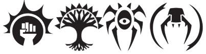 Ravnica guild symbols