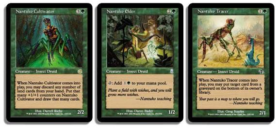 Nantuko cards