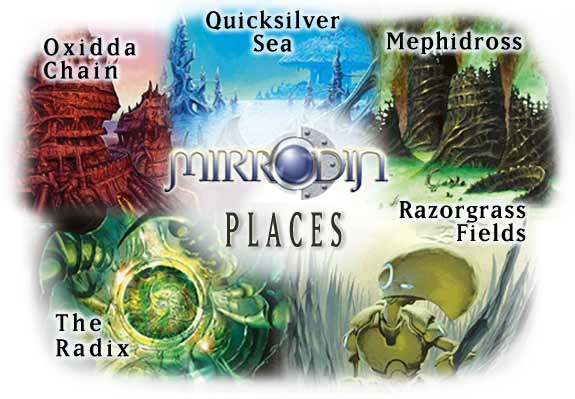 Mirrodin Places