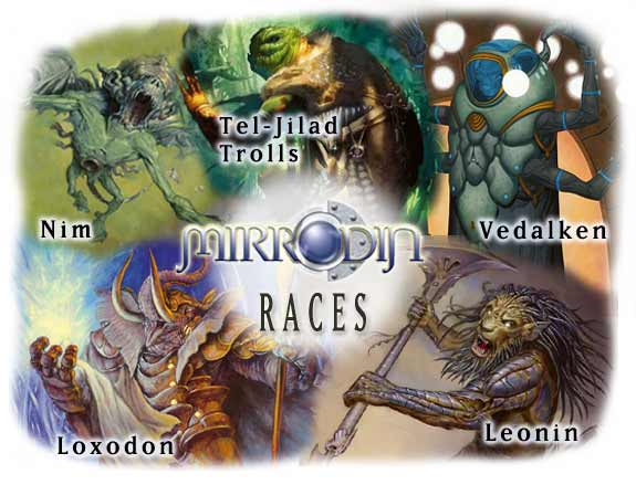 Mirrodin Races