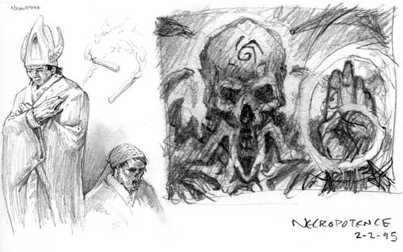 Necropotence sketches