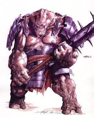 Ogre from the Champions of Kamigawa style guide
