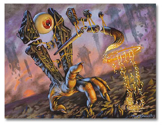 Kami of the Painted Road art by Ron Spencer