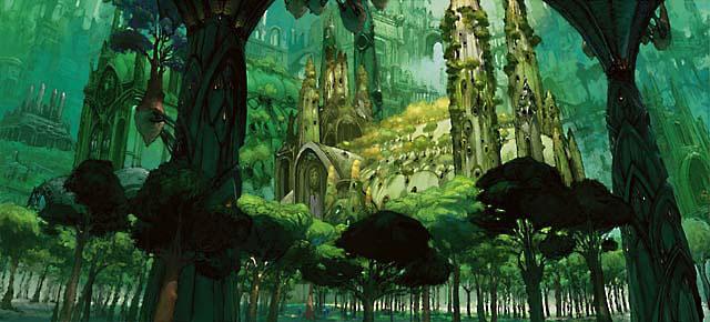 Ravnica Forest art