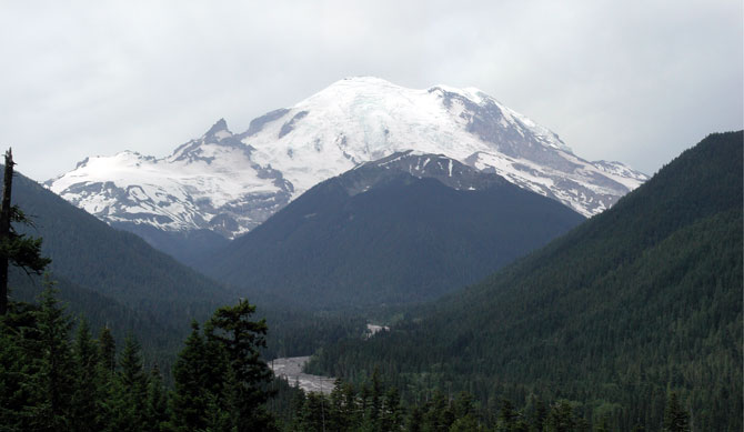 Washington State's Mount Rainier