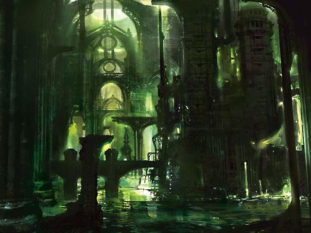 Ravnica Swamp art