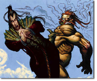 Szadek, Lord of Secrets & Fling