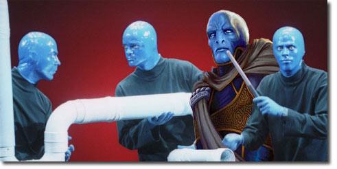 Vedalken Entrancer joins the Blue Man Group?