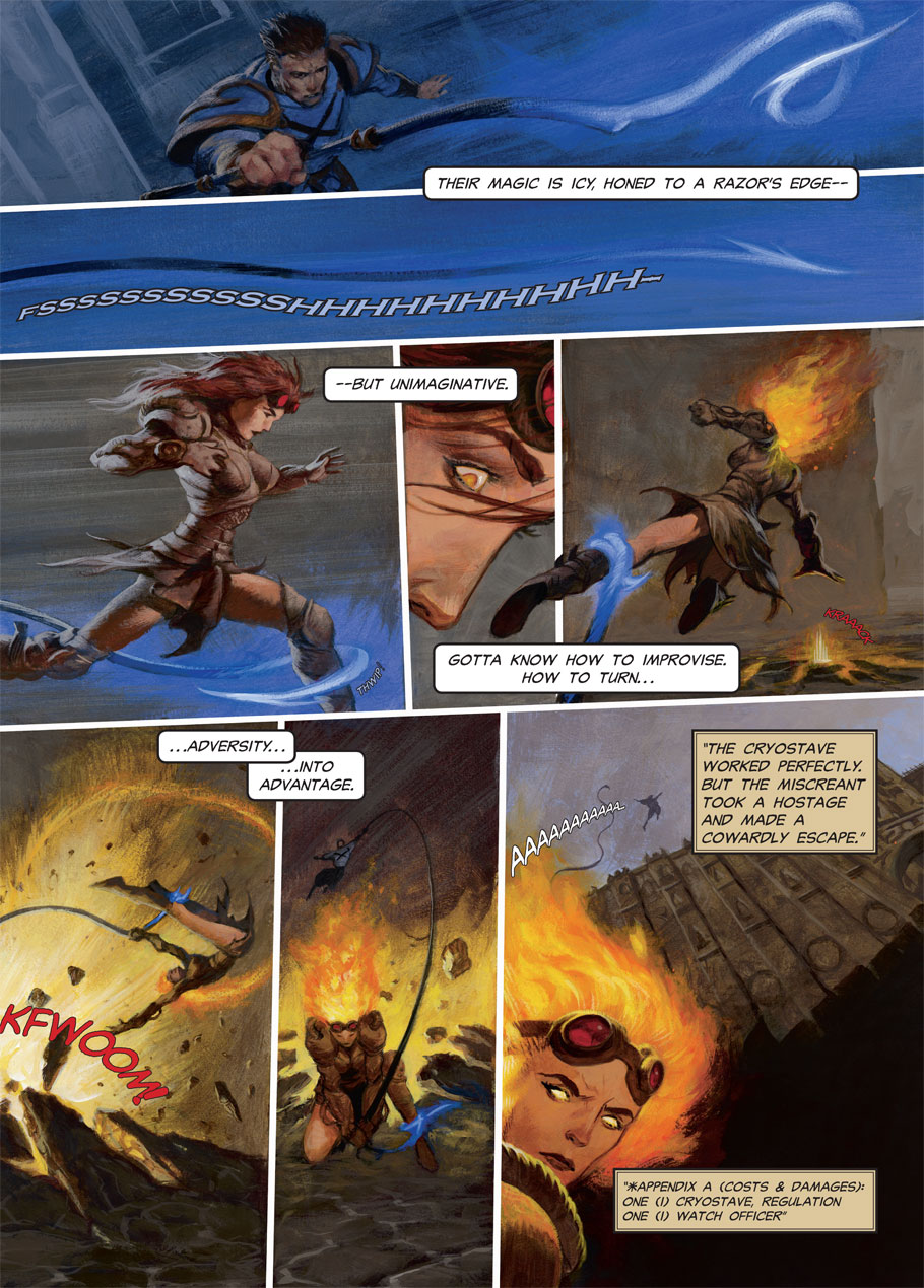 Chandra's Ultimate: Page 1