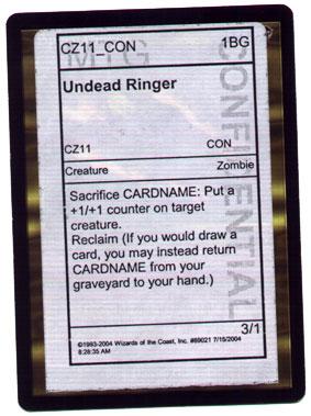 [Undead Ringer]