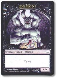 Demon Token, art by Pete Venters