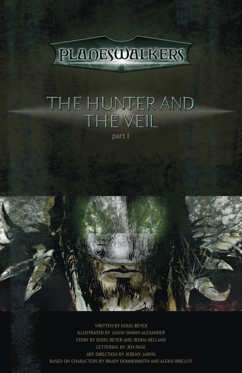 The Hunter and the Veil: Title Page