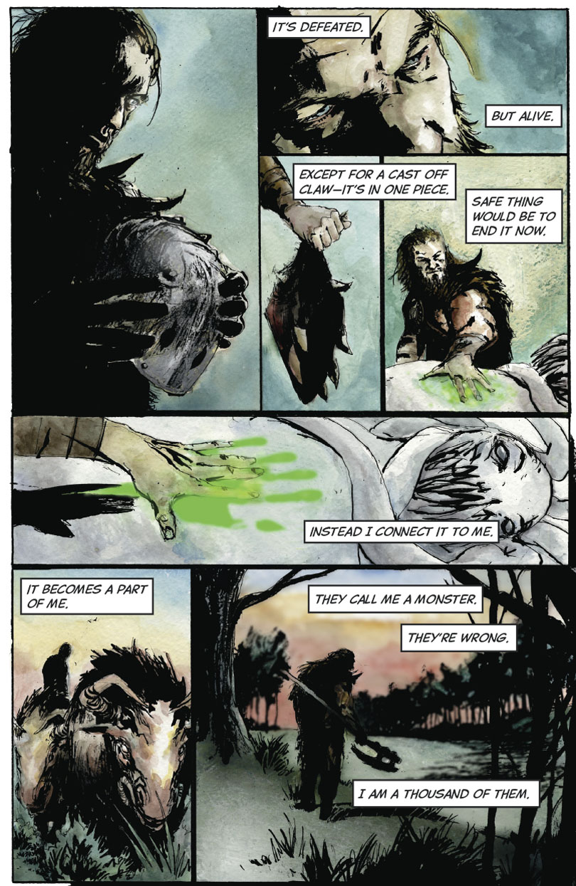 The Hunter and the Veil Part 1: Page 7