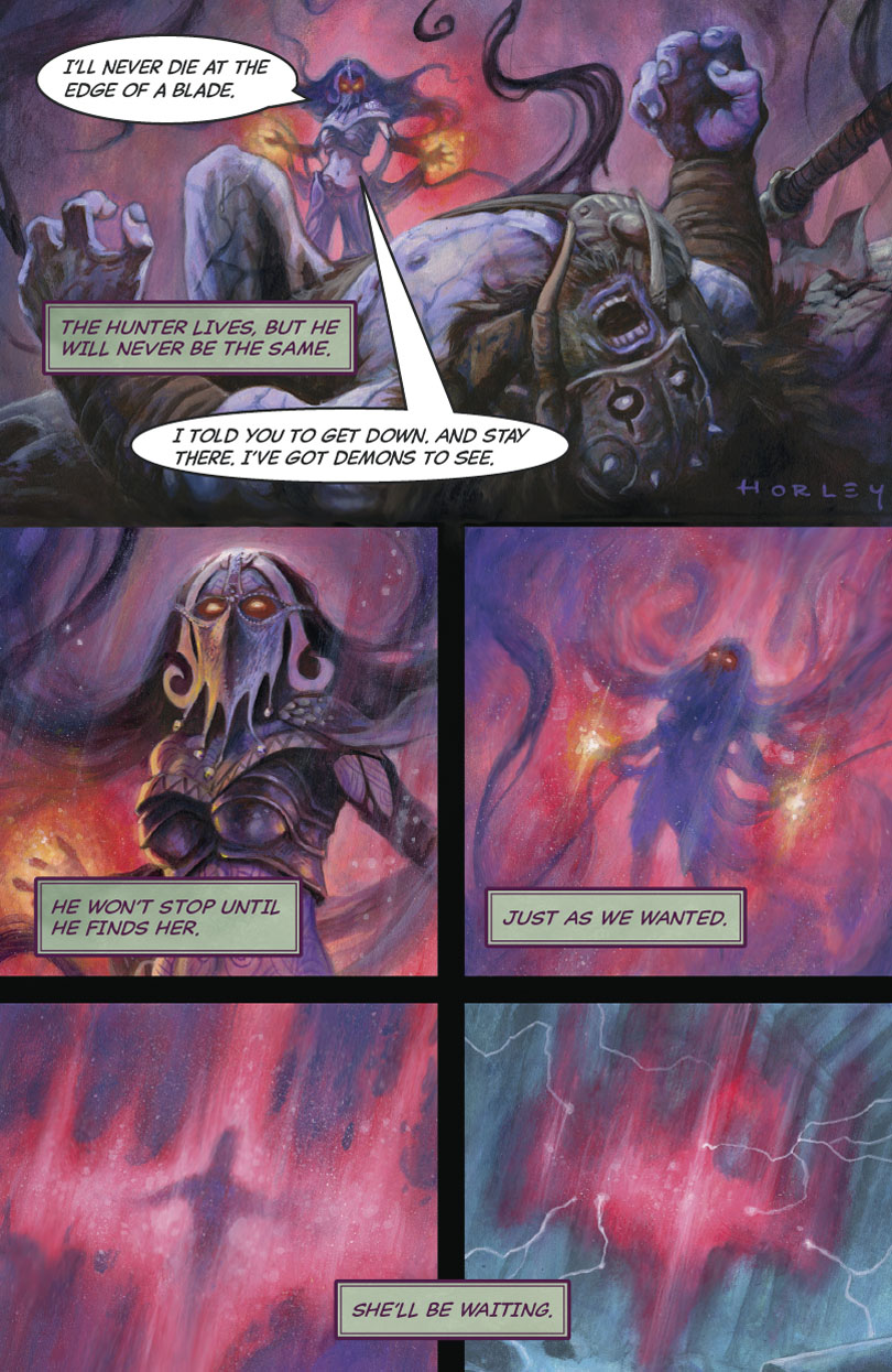 The Hunter and the Veil Part 3: Page 9