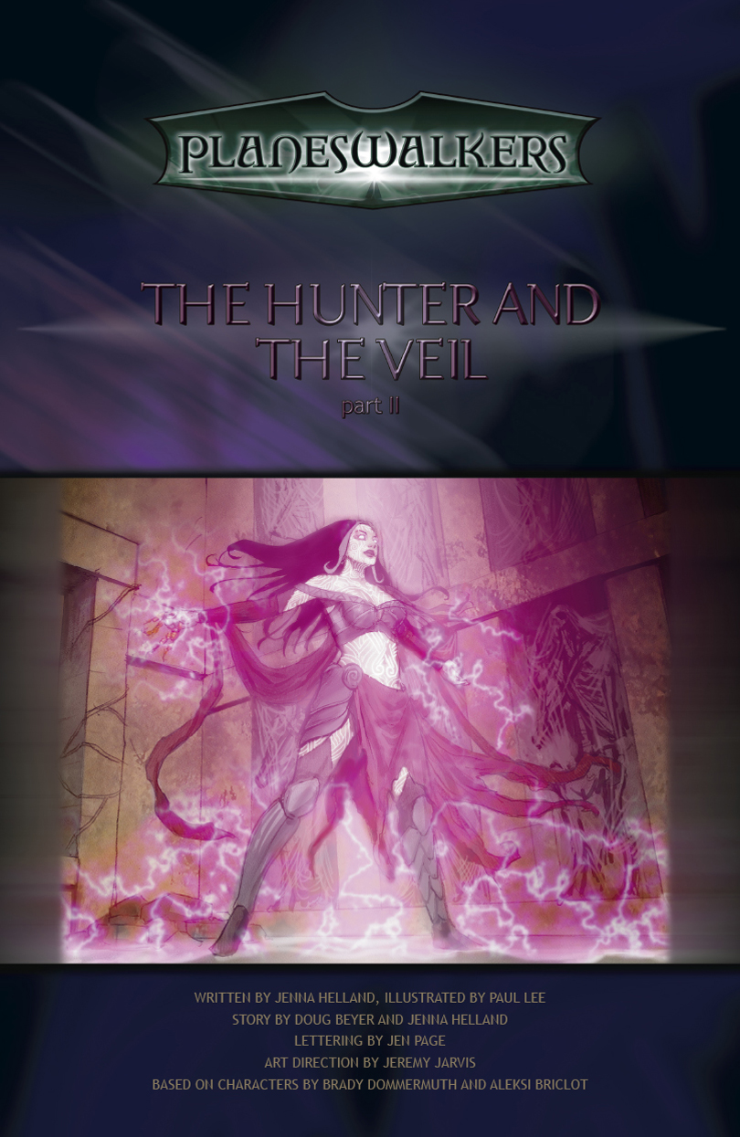The Hunter and the Veil Part 2: Title Page