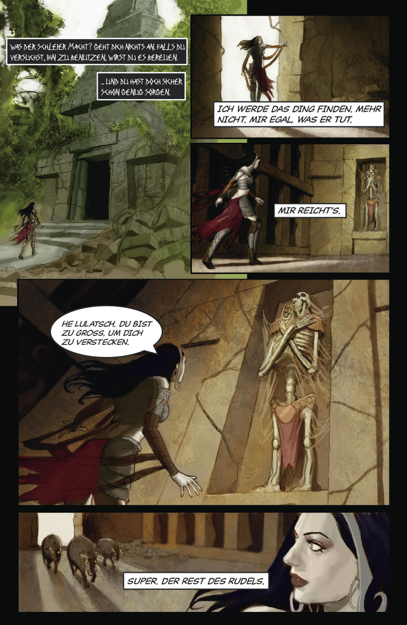 The Hunter and the Veil Part 2: Page 4
