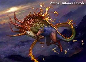 Art by Tsutomu Kawade
