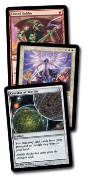 Crazed Goblin, Akroma's Vengeance, Crucible of Worlds