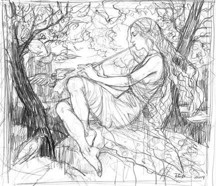 Elvish Piper, Rebecca Guay