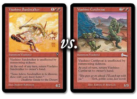 Viashino Cutthroat vs. Viashino Sandstalker