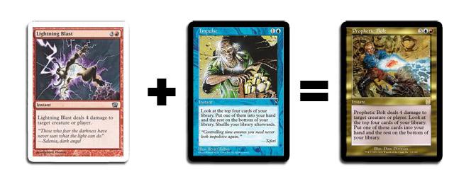 Lightning Blast + Impulse = Prophetic Bolt