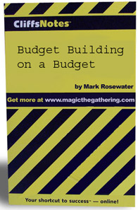 Budget Building on a Budget