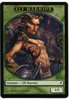 Lorwyn Elf Warrior Token