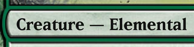 Creature - Elemental