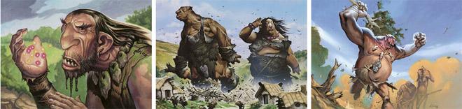 Giant Harbinger, Boldwyr Heavyweights, and Borderland Behemoth