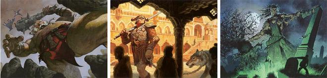 Boldwyr Intimidator, Oathsworn Giant, and Rotting Giant