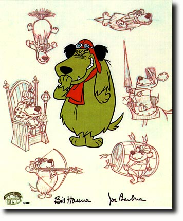 Muttley, the sniggering dog