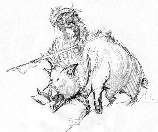 Boartusk Liege sketch