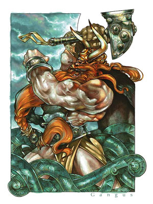 Thor, from Deities and Demigods