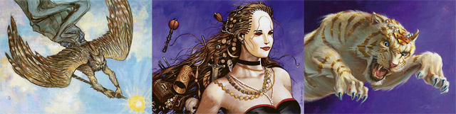 Aven Mindcensor, Imperial Mask, Seht's Tiger