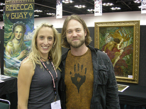 Rebecca Guay and Jeremy Jarvis