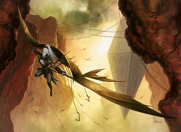 Sketches: Kor Skyfisher | MAGIC: THE GATHERING