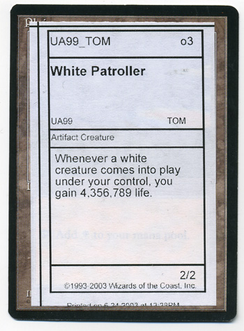 White Patroller