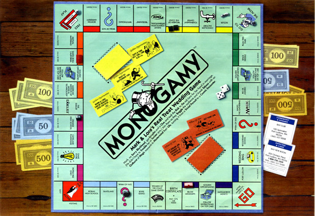 Monogamy: Mark & Lora's Real Treat Wedding Game