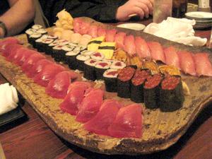 Yum! Sushi!