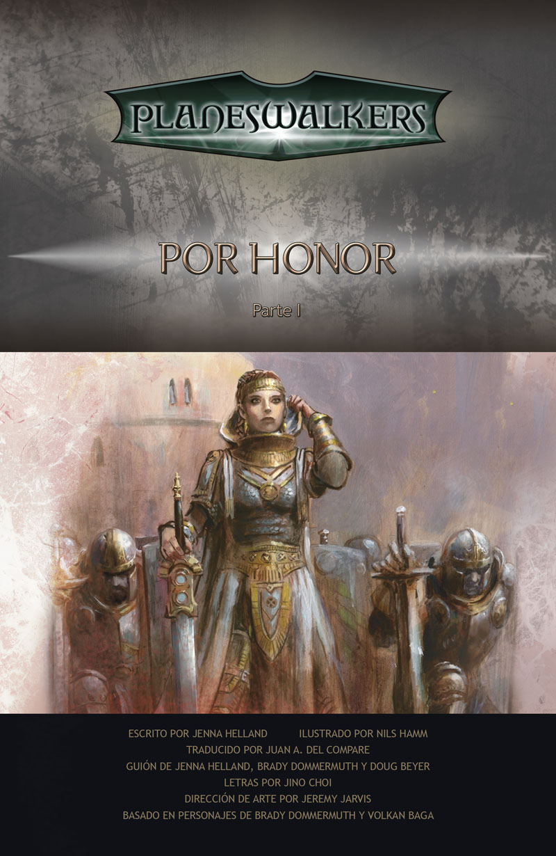 Honor Bound, Part 1: Title Page