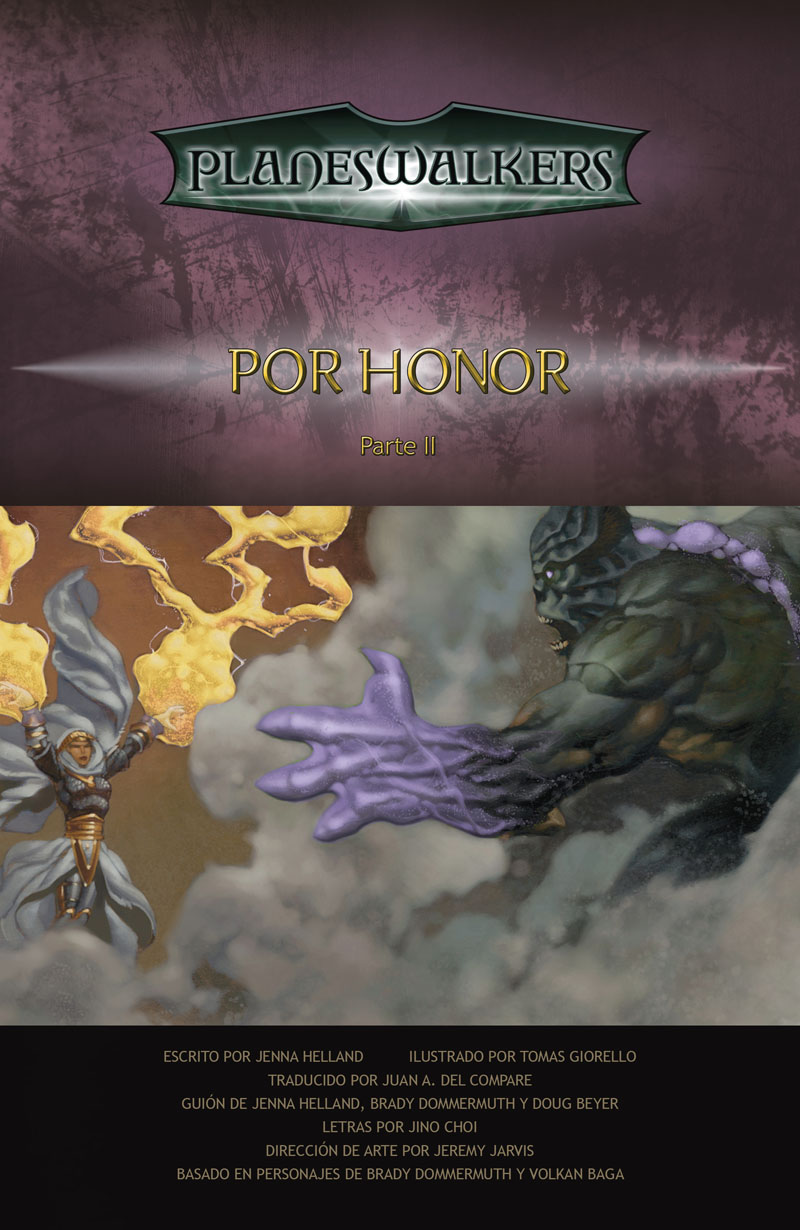 Honor Bound, Part 2: Title Page
