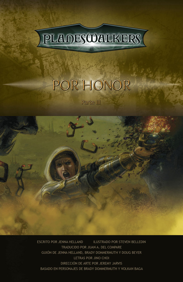 Honor Bound, Part 3: Title Page