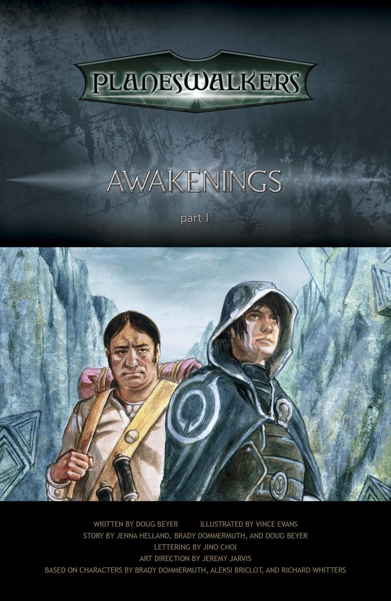 Awakenings, Part 1: Title Page