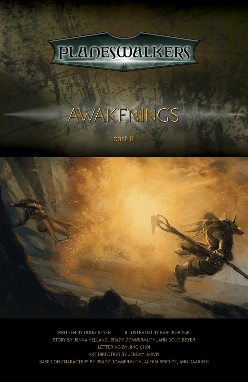 Awakenings, Part 2: Title Page