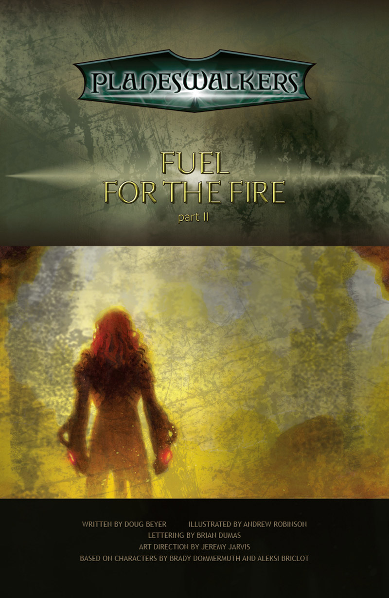 Fuel for the Fire Part21: Title Page