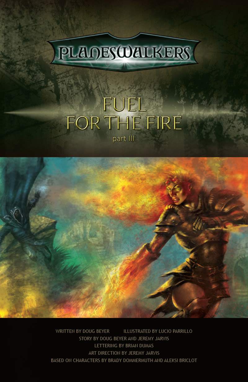 Fuel for the Fire Part 3: Title Page