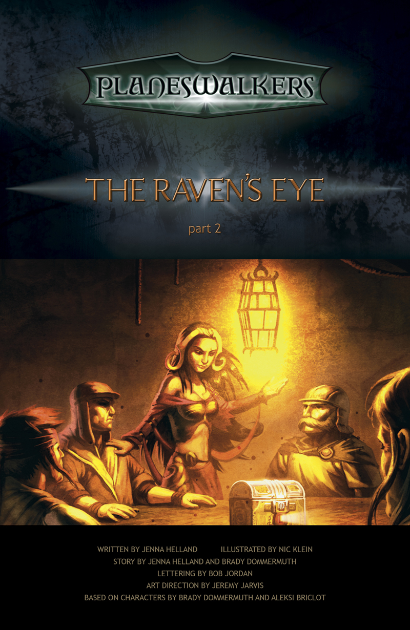 The Raven's Eye, Part 2: Title Page